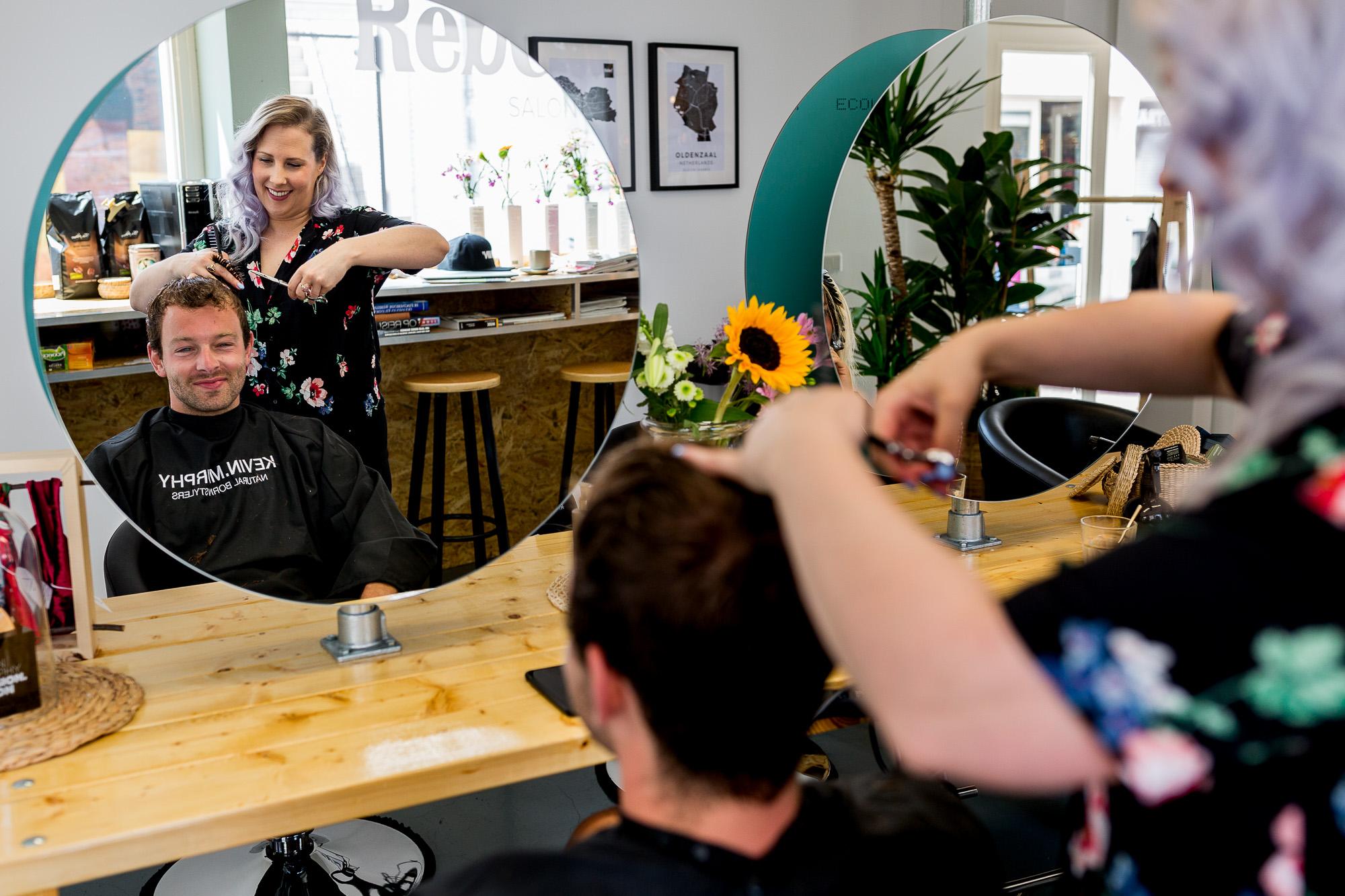 Bedrijfsfotografie | Salon Rebel