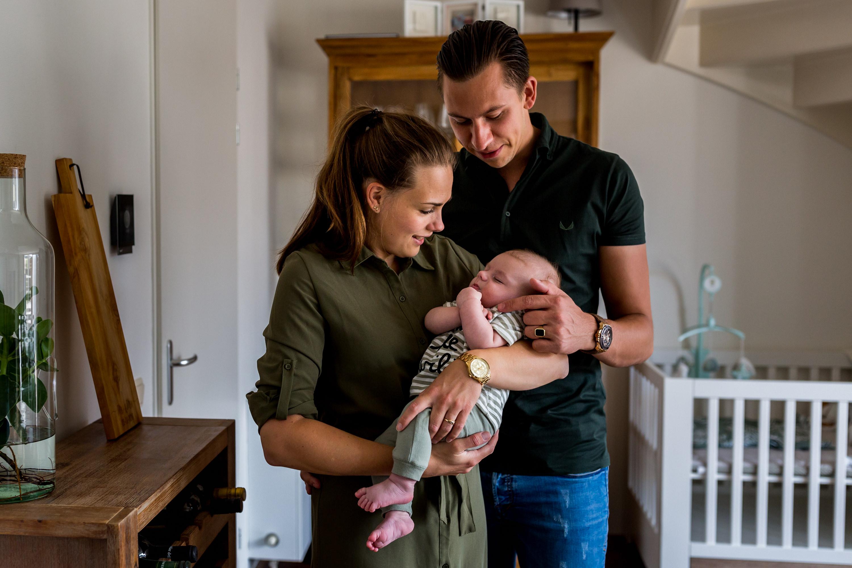Professionele fotograaf voor zwangerschap en new born fotografie